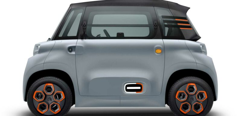 Cute Citroen Ami EV Coming To US With Free2Move Car-Sharing
