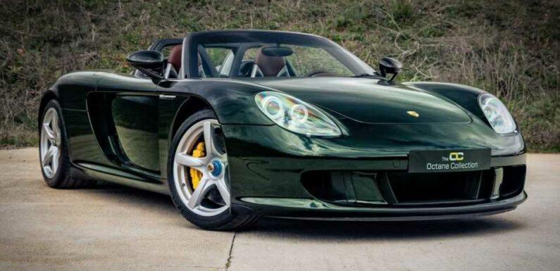 Dark Olive Green Porsche Carrera GT Is A One-Off Beauty