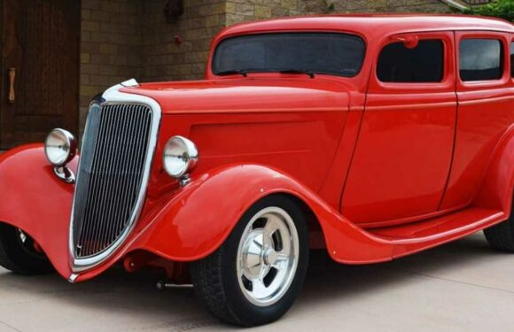 Eddie Van Halen's Old 1934 Ford Hot Rod Is For Sale