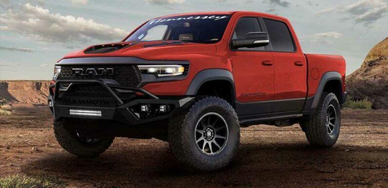 Hennessey Planning 1,000-HP Hellephant Swap For Ram TRX, Durango SRT