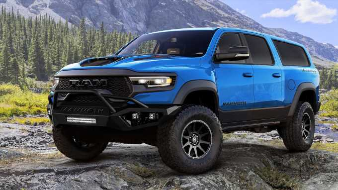 Hennessey Turns the Ram 1500 TRX Into the Mammoth SUV