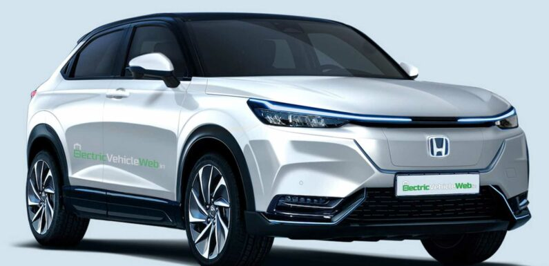 Honda HR-V Electric SUV Rendered With Production Design