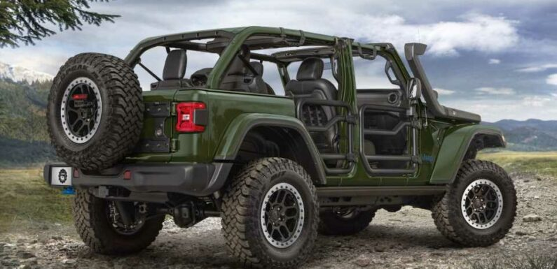 Jeep Rolls Out Factory Lift Kit for Plug-In Hybrid Wrangler 4xe