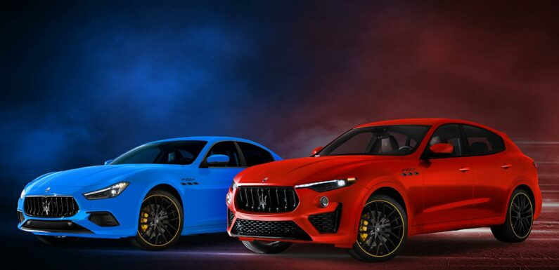 Maserati F Tributo Special Editions launched