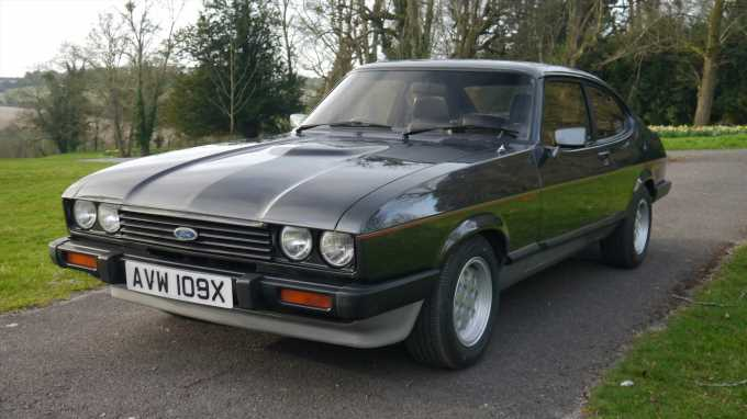 Move Over, Mustang: Henry Ford II's Personal Custom Capri Is for Sale