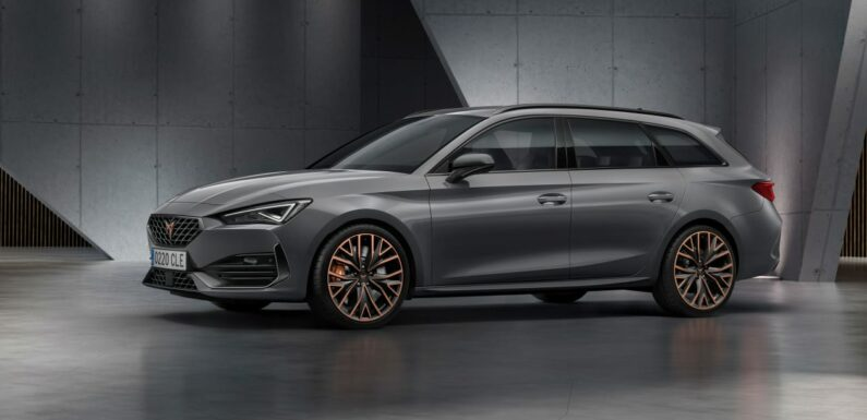 New 2021 Cupra Leon Estate on sale now priced from £38,475