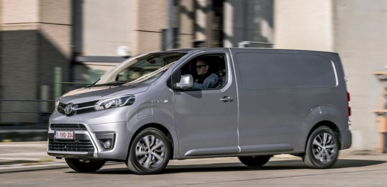 New 2021 Toyota Proace Electric: specifications confirmed