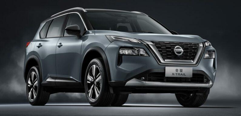 New 2022 Nissan X-Trail SUV makes Shanghai Motor Show debut