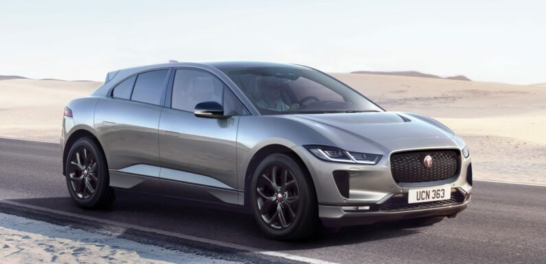 New Jaguar I-Pace Black joins electric car line-up