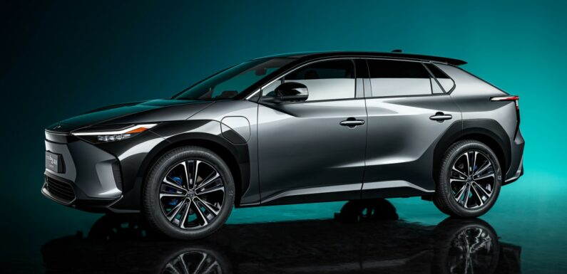 New Toyota bZ4X previews electric SUV on sale in 2022