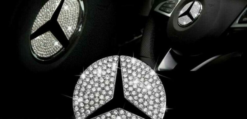 Please Don't Add Shrapnel to Your Car's Airbag With Rhinestone Stickers on the Steering Wheel