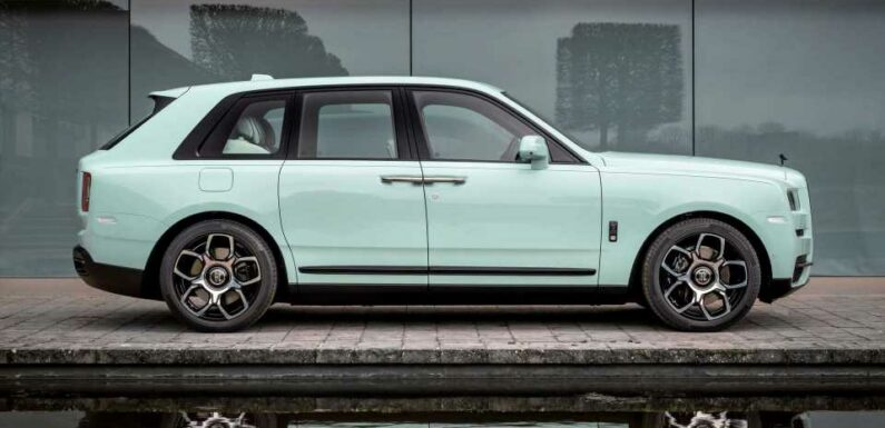 Rolls-Royce Cullinan, Ghost, And Wraith Arrive In Wild Color Combos