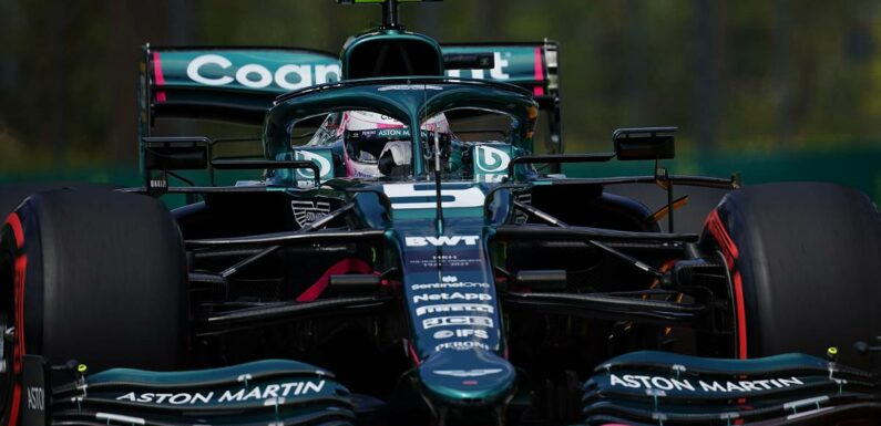Sebastian Vettel sees Aston Martin gains but more to come
