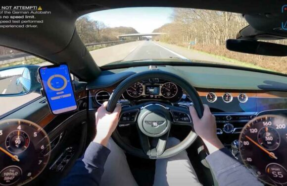 See The New Bentley Flying Spur V8 Hit 174 MPH On The Autobahn