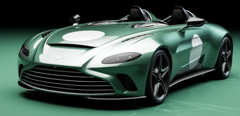 Special Aston Martin Speedster Package Honors DBR1 Racer