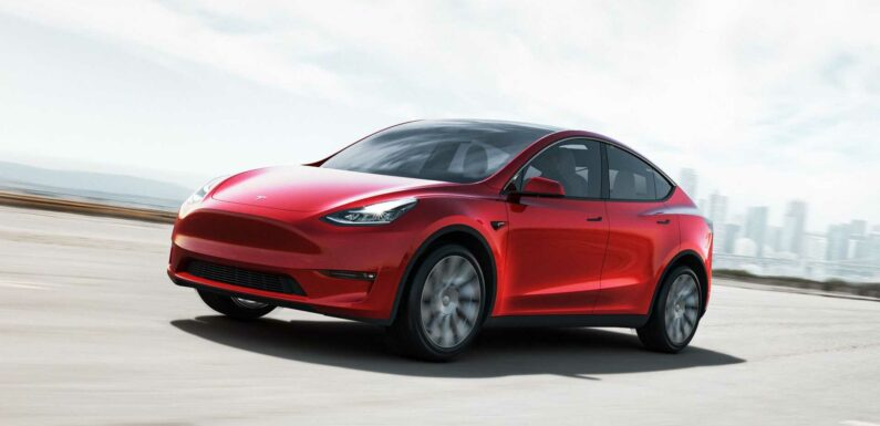 Tesla Model Y 2021 Production Ramp May Push 80% Delivery Increase