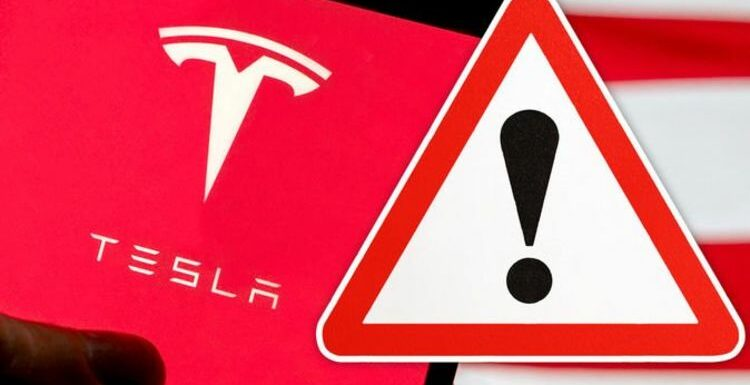 Tesla recalls 2,500 cars after fears software failure may increase 'risk of an accident'