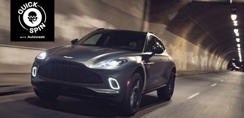 The 2021 Aston Martin DBX Crosses Into a New Territory