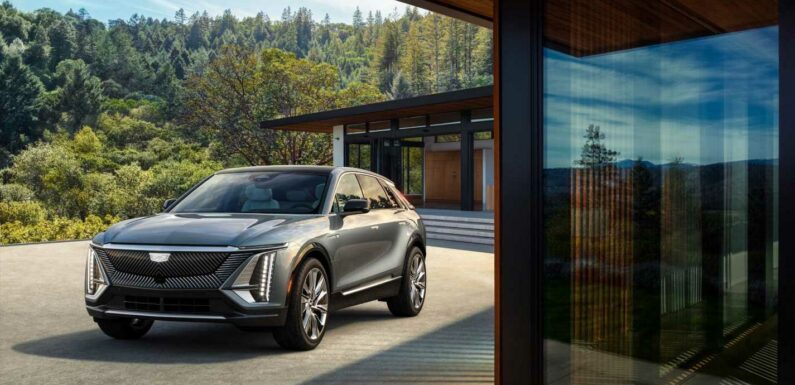The 2023 Cadillac Lyriq Rolls from Concept to Production