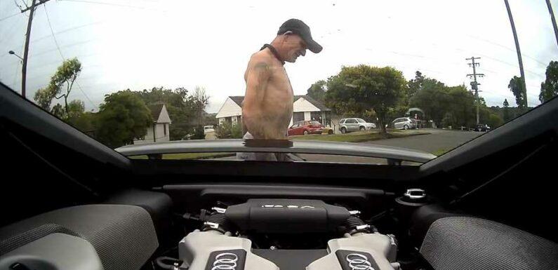 This Australian Man Took a Stolen Audi R8 on a Joyride Beyond Belief