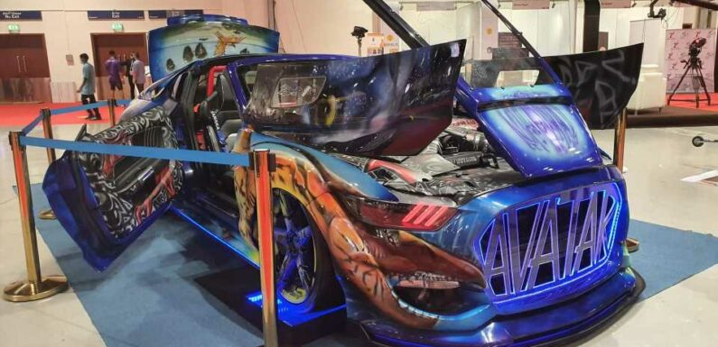 This Avatar-Themed Ford Mustang Monstrosity Was Built to Crush the Human Spirit