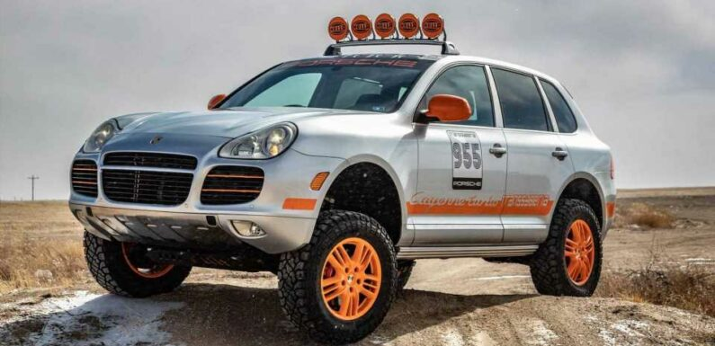 This Porsche Cayenne Is A Stunning Transsyberia Tribute You Can Buy