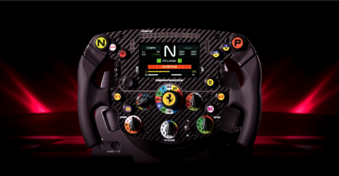 Thrustmaster's New Sim Racing Wheel Is a Replica Straight Out of Ferrari's F1 Car