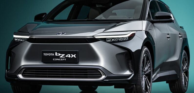 Toyota bZ4X Concept – RAV4-sized electric SUV developed with Subaru, yoke steering, coming 2022 – paultan.org