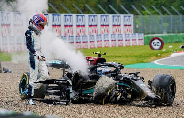 Valtteri Bottas slept when George Russell called after Imola crash | Planet F1