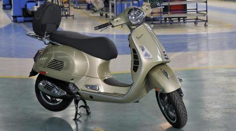 Vespa 75th Anniversary; announces new production milestone