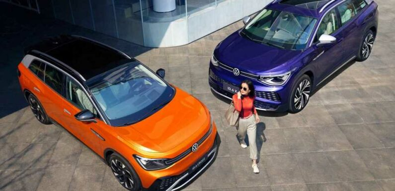 Volkswagen Reveals ID.6 CROZZ And ID.6 X