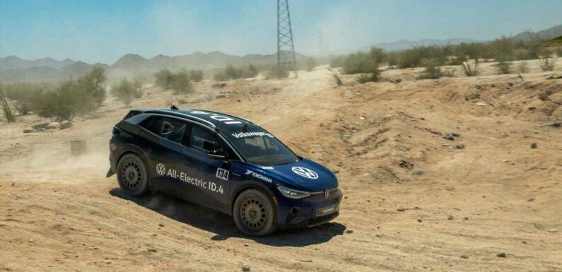 Volkswagen\u2019s ID.4 Racer Survives Baja