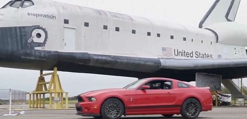 Watch A 2014 Shelby GT500 Do A 2.7-Mile Top Speed Run