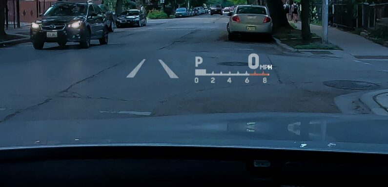 Which Cars Have Head-Up Displays?