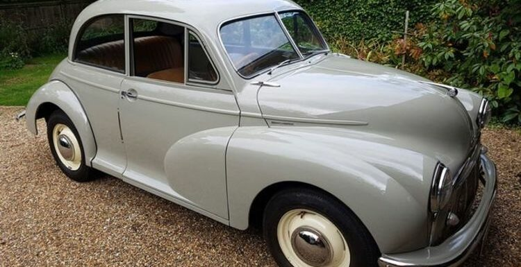Classic car collectors can secure Morris Minor in 'excellent' condition for £8,000