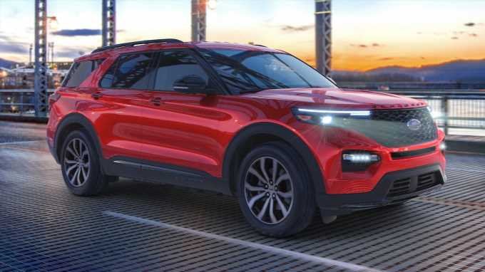 2021 Ford Explorer Enthusiast ST Is a 400-HP RWD 3-Row SUV