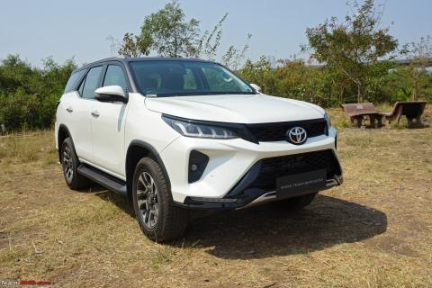 Toyota Fortuner prices hiked by up to Rs. 72,000