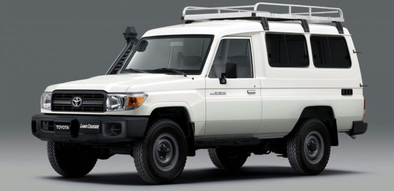 Toyota Develops Refrigerated Land Cruiser for Vaccine Delivery Duty