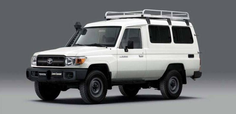This Refrigerated Toyota Land Cruiser Is the First WHO-Approved Vaccine Delivery Truck