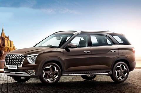 Hyundai Alcazar 7-seater SUV revealed