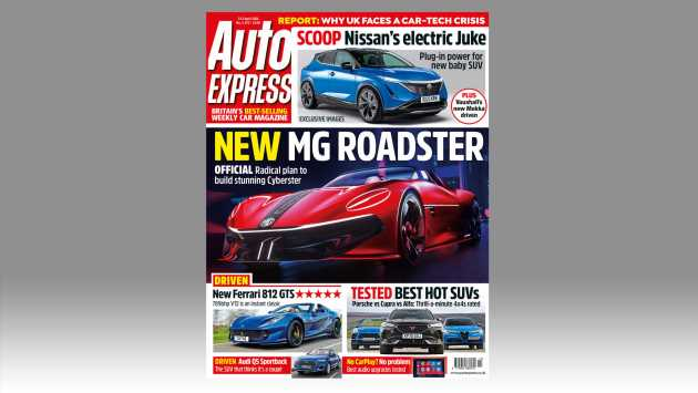 New MG Cyberster and all-electric Nissan Juke in this week's Auto Express