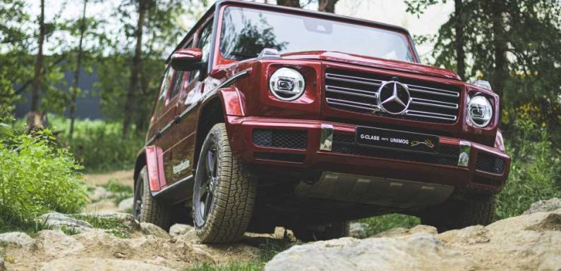 Mercedes' EQG Trademark Filing Hints at Possible Name of Electric G-Wagen SUV