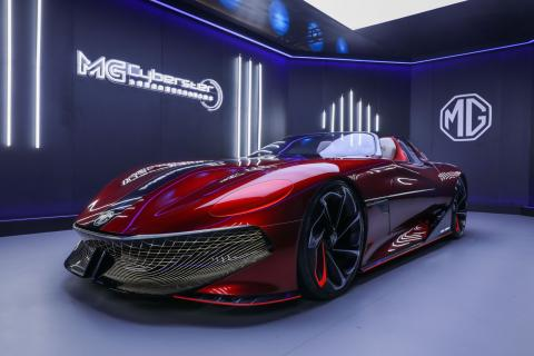 MG Cyberster Concept revealed; debut at Shanghai Motor Show