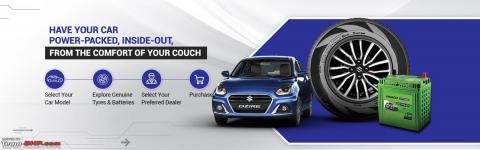 Maruti Suzuki launches Tyres & Batteries under MGA range