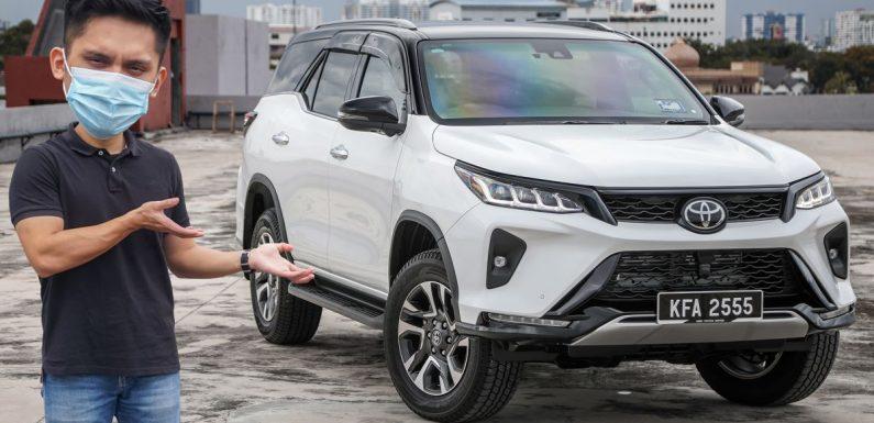 FIRST LOOK: 2021 Toyota Fortuner 2.8 VRZ – RM203k – paultan.org