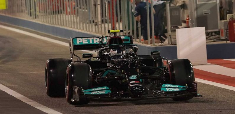 Mercedes explain reason for Valtteri Bottas' slow stop