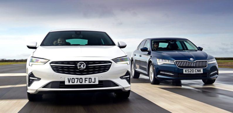 Vauxhall Insignia vs Skoda Superb