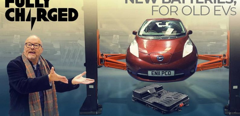 Cleevely Shows EV Recycling At Its Best: Keeping Old EVs Running