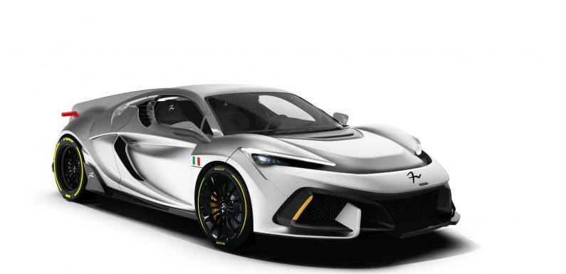 FV Frangivento Sorpasso Is An Italian 850-HP Supercar You Can Rename