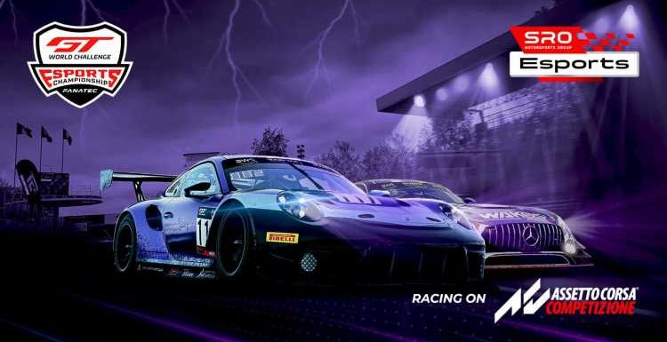 GT World Challenge Esports Sprint and Endurance Series to Run on Three Continents
